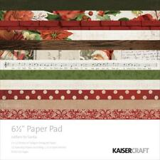 Kaisercraft Paper Pad 6.5x6.5 Letters To Santa - Christmas Scrapbook Papers