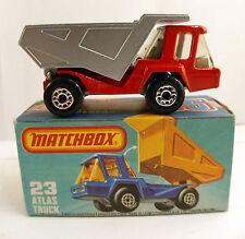 Matchbox Superfast  New#23 Atlas Truck en boite/inbox