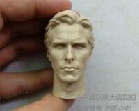 1/6 scale Head The best blank Sculpt BATMAN Bruce Wayne Christian Bale unpainted