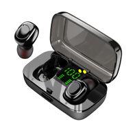 TWS Wireless Earphones Bluetooth 5.0 Headset Mini Earbuds Stereo Headphones