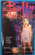 Buffy The Vampire Slayer Evil that Men Do by Nancy Holder (2000) Pocket Books pb
