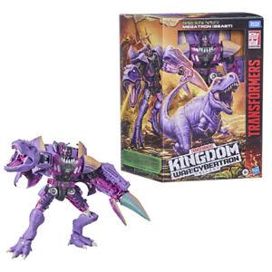 Transformers War for Cybertron Kingdom Leader TRex Megatron Genuine Not KO