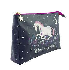 Unicorn Lavare Borsa da viaggio set di cortesia NOTTE Make Up Cosmetici Custodia palestra