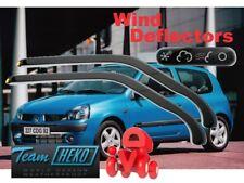 Renault Clio  1998 - 2005  3.doors  Wind deflectors  2.pc HEKO  27125