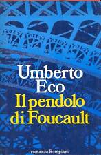 ECO Umberto - Il pendolo di Foucault. Prima edizione