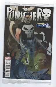The Punisher #1 variant edition Marvel,Comic Block Exc.Poly bagged edition.Mint