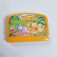 Vtech Disney V.SMILE BABY Poohs Hundred Acre Wood  Learning  Cartridge 1T