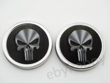 Skull Metal 3D Punisher Car Emblem Decal Motorcycle Truck Auto 3M Badge Stickers