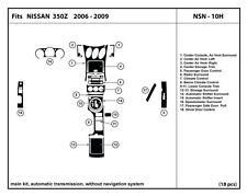 Real Carbon Fiber Dash Kit for 350Z 06-09  Automatic Trans- main kit- NSN-10H