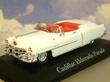 ATLAS 1/43 CADILLAC ELDORADO PARADE CAR WHITE PRESIDENT DWIGHT D EISENHOWER 1953