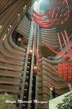 Atlanta Marriott Marquis, Peachtree Center Avenue, Georgia, Atrium --- Postcard