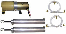 1964-1968 Ford Mustang new convertible top pump motor, 2 cylinders & hose set