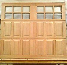 8x7 Wood Carriage House Overhead Garage Door, AmanaDoors Model 105W12
