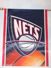"New Jersey Nets Weather Resistant 27"" by 37"" Vertical Flag (Indoor & Outdoor)"