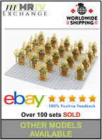 21 Minifigures Atlantis Zeus Odysseus Army Toys Kids - Block Custom UK