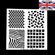 Plantilla capas de tarjetas colección de recortes animal Cuadrado Patrón post rápido Reino Unido