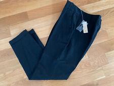Per Se Ladies Black Linen Pants Size 6 NEW NWT Ankle Length Stretch