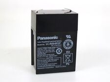 Panasonic Bleiakku LC-R064R5P 6V 4,5Ah   Faston 4,8 mm **Neu mit Rechnung**