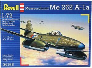 Revell 04166 Messerschmitt Me262 A-1a 1/72 scale model aircraft kit