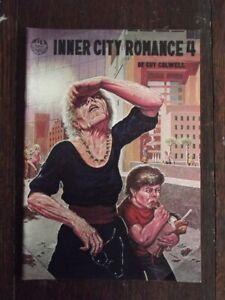 1977 INNER CITY ROMANCE #4 COMIC - FINE+/VF
