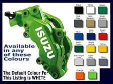 Isuzu Premium Brake Caliper Decals Stickers x 6