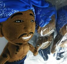 2PAC: Sealed New Plush Toy- Tupac - Limited Edition - Rapper Toys collection 12""