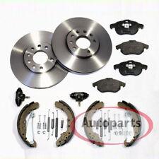 Bremsbel/äge Mit Akustischer Verschlei/ßwarnung ATE P-A-01-00979 Bremsen Set 2 Bremsscheiben Vorne /Ø 300 Bel/üftet Vorne