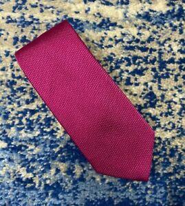 Charles Tyrwhitt Solid Pink 100% Silk Necktie