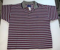 Ocean Pacific OP Men's Polo Shirt Vintage Surf Skate Striped Size M MADE IN USA