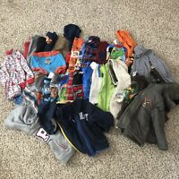 36 Piece Lot Of Boys Clothes Toddler Boys 24 Months Long Sleeves Jackets Shirts
