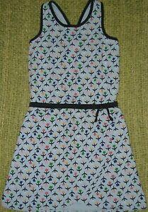 HANNA ANDERSSON Adorable Colorful Floral Sundress Summer Dress 130 Girls 8-10