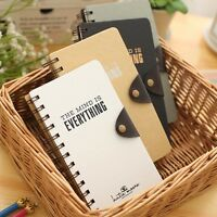 """""""My Mind"""" 1pc Journal Diary Pocket Coil Spiral Sketchbook Blank Papers Notebook"""