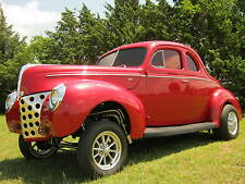 1940 Ford DELUXE COUPE HEMI GASSER!! STRAIGHT AXLE DISC, AUTO ALL NEW!!!