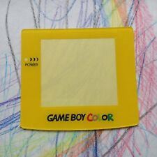 Yellow Nintendo Gameboy Color Replacement Screen Lens