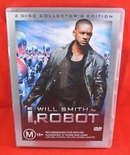 I, Robot (DVD, 2004, 2-Disc Set) Free Postage Australia Wide R4