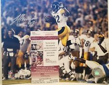 James Harrison Signed Pittsburgh Steelers 8x10 Photo JSA COA