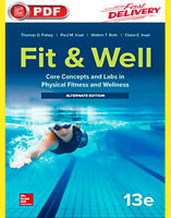 (Eboook) Fit & Well: Core Concepts and Labs in Physical Fitness and Wellness