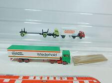 av166-0,5 #3X Wiking H0 Truck : FORD Wiederhold + MAN DANISH + Mercedes /