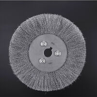4''-12'' Crimped Stainless Steel Wire Wheel Brush Bench Grinder Abrasive Tools