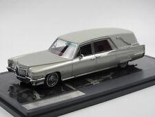 Matrix 1970 Cadillac Superior Crown Funeral Car Hearse Bestattungswagen 1/43
