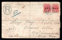 South Africa 1912 Military Postal Stationery ERI Stamps to Cape Town WS14825