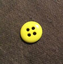 4 PIECES DILL BUTTONS #380055 BLUE TOGGLE--2 HOLE--38MM-