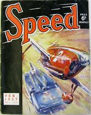 SPEED Magazine Feb 1937 - Motorcycle Racing 1937, Bulgarian Grand Prix, Speedway