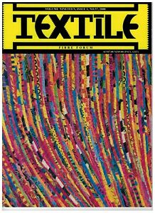 BULK 9 x Textile Fibre Forum magazine: issue #57, 58, 59, 60, 61, 62, 63, 64, 65