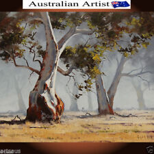 Realism Landscape Art Brown