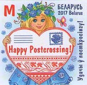 2017 Belarus Happy Postcrossing! Girl MNH