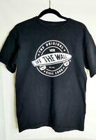 Vans T-shirt Men's  Off The Wall Black Sz Medium