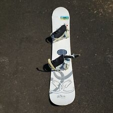 Ride Compact Womens Snowboard Design by Circe Wallace White 148 cm by 24 cm