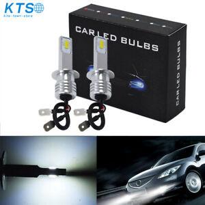 2x H1 35W LED Headlight Bulbs Conversion Kit High Low Beam Fog Light White 6000K