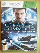 Carrier Command Gaea Mission Jeu Vidéo XBOX 360